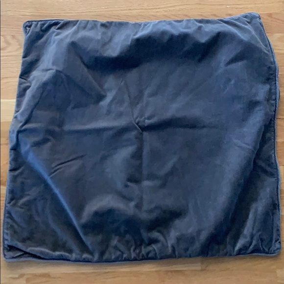 TWO IKEA pillow cover gray 26x26